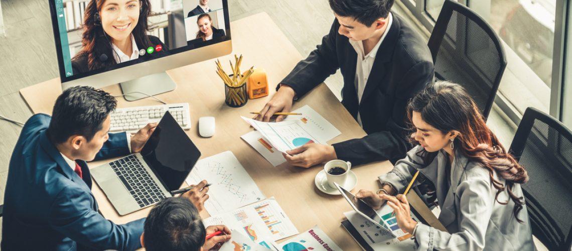 Virtual-company-meeting